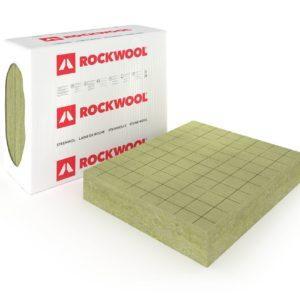 Steenwol isolatie waterafstotend harde toplaag, flexibele achterzijde, rasterpatroon, Rockfit DUO