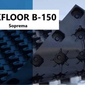 Teckfloor Noppenplaat Vloerisolatie EPS 1400 x 800 mm