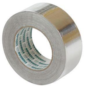 Aluminium Isolatietape 5 CM X 50M X 25µ voor het luchtdicht afwerken van naden van isolatiepanelen