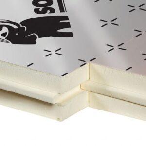 Soprema PIR/PUR Isolatieplaten voor thermische isolatie van vloeren, muren en daken