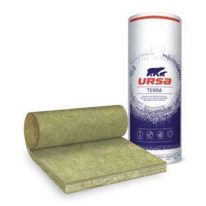Ursa Timber Frame Roll Glaswol Isolatiemateriaal voor hoge thermische isolatie